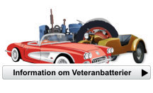 information om batterier till veteranfordon