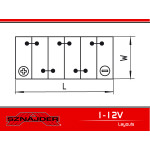 62011 HD 120Ah 950A/EN Superbatteriet