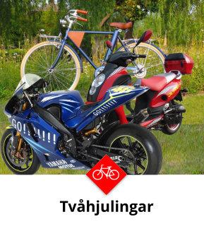 Tvåhjuliga fordon