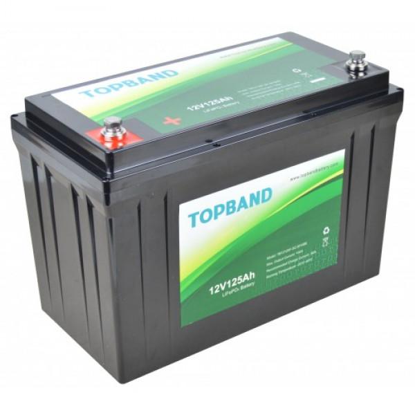Topband Litium 12V 125Ah TB12125