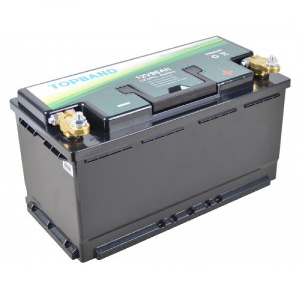Topband Litium 12V 96Ah Bluetooth TB1296B