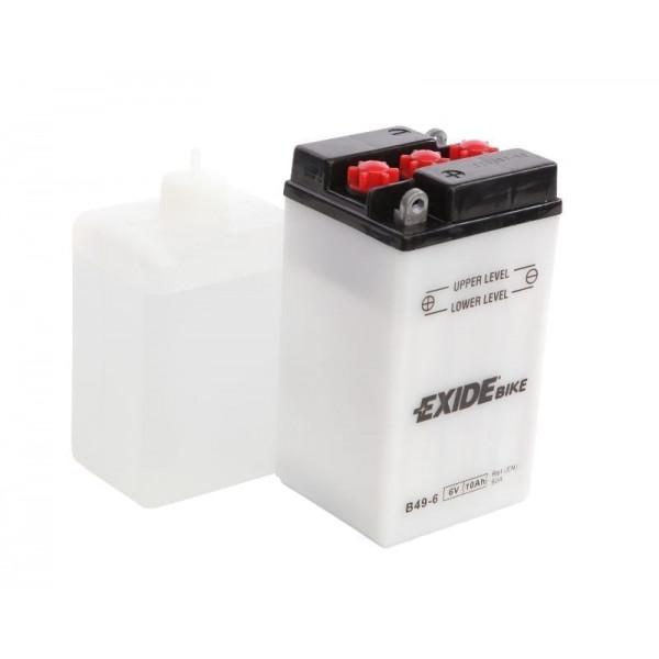 00811 MCbatteri 6V 10Ah 80A/EN (B49-6) Plast